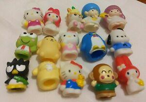 Sanrio Smiles Finger Puppets 15 pcs set in original package SUPER RARE 1999