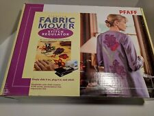 Pfaff Creative Fabric Mover 2100 w/ Stitch Regulator Quilters Cruise Control Sew