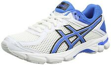 ASICS Gt-1000 4 Gs Unisex Running Shoes White/Electric Blue/Black 3 UK 36 EU