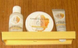 The Body Shop - Soothing Almond Milk and Honey For Sensitive Dry Skin Set