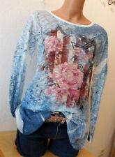 Langarm Damenblusen, - Tops & -Shirts in Größe 38 mit Sterne