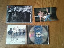 """Puddle Of Mudd """"Come Clean"""" Cd with A 5x7 Picture & 4x6 photo of Doug Ardito"""
