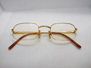 RARE used Cartier Broadway Vendome Gold glasses frames