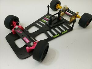 VERY LITTLE USE SADDLE RC PRO PAN CAR CHASSIS