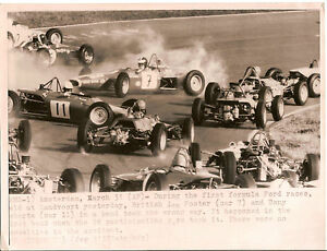 FIRST FORMULA FORD RACES. AMSTERDAM. Photographie  années 70.
