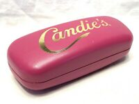 NEW Candies Pink Hard Side Clamshell Protective Sunglasses Eyeglasses Case
