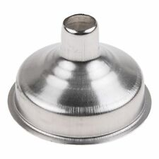 New Stainless Steel Kitchen Small Funnel Metal Easy Fill Jam Jar Wide Neck Mini