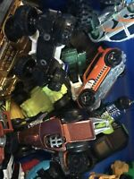 LOT 40+ Random Toy Cars Die Cast Cars MATCHBOX, Hot Wheels, Disney, Tonka, Rare?