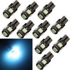 10 * Ice blue T10 5SMD-type LED W5W 168 921 194 Canbus Error Free Wedge bulb