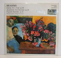 """BRAHMS SINFONIE NR.3 F-DUR OP.90 OUVERTÜRE DORATI 12""""LP (e363)"""