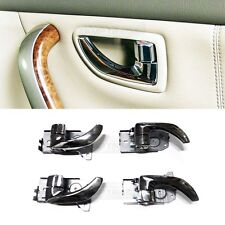 OEM Chrome Inside Door Catch Molding 4Pcs For KIA 2003 2004 2005 2006 Sorento