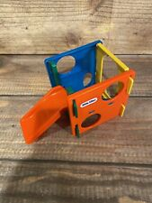 "Little Tikes Vintage 5"" Dollhouse Size Jungle Gym Playground Slide Toy"