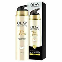Olay Total Effects Featherweight Moisturiser 7-In-1 SPF15  Cream 50ml NEW&SEALED