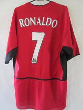 Manchester United 2002-2004 Cr Ronaldo 7 Home Football Shirt Tamaño Grande / 34698