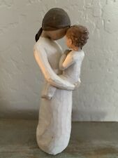 "2001 Willow Tree ""Tenderness"" Mother And Son Figurine- Demdac0 -Susan Lordi"