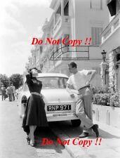 Peter & Louise Collins ferrari f1 Portrait Monaco Grand Prix 1956 PHOTO Graph 2