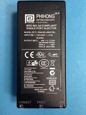 PSA16U-480(POE) Phihong * NEW* Power Over Ethernet Single Port Injector