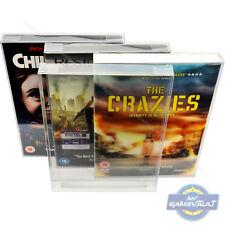 DVD Slipcover BOX PROTECTORS Steelbook Super Strong 0.5mm PLASTIC DISPLAY CASE