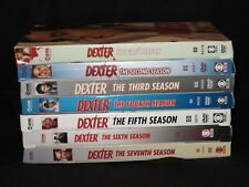 DEXTER SHOWTIME TV SHOW SEASON 1 2 3 4 5 6 7 1-7 DVD SET LOT 28 DISCS VERY GOOD