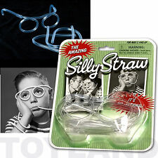 DRINKING SILLY STRAW GLASSES PARTY TOY BOYS GIRLSBIRTHDAY PARTY BAG FILLERS