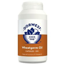 Dorwest Wheatgerm Oil Capsules 200, Premium Service, Fast Dispatch
