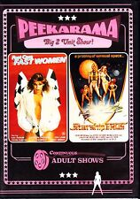 FAST CARS FAST WOMEN / STARSHIP EROS - ADULT DOUBLE  PEEKARAMA  DVD REGION FREE