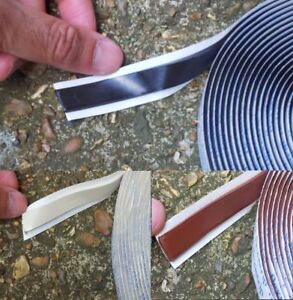 Flexistrip Butyl Glazing Sealant Double Sided Tape - 6 Meters -Black White Brown