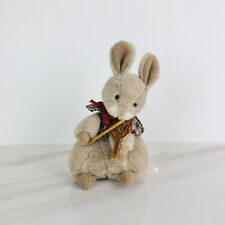 Sekiguchi Musical Violin Bunny Music Box Plays A Spoonful Of Sugar 8.5�
