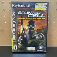 Tom Clancy's Splinter Cell: Pandora Tomorrow (Sony PlayStation 2) ps2 COMPLETE