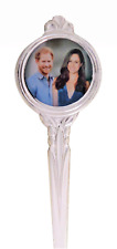 Prince Harry & Meghan Markle Engagement Silver-Plated Collector's Spoon