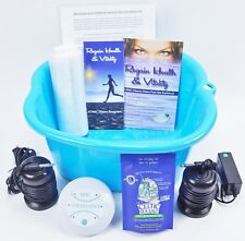Ionic Detox Foot spa bath Chi Cleanse Unit for Home Use With Free Foot Basin!