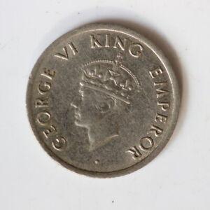 1947 India Quarter 1/4 Rupee (SH4/62)