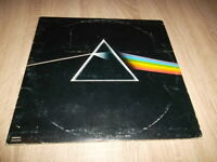 Pink Floyd - Dark Side of the Moon  Vinyl LP 1973 Italy FIRST PRESS +Poster