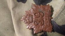 WW1 WWI CEF Cap Badge - 39th Battalion