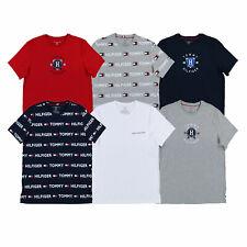 Tommy Hilfiger мужской Пижама футболка пижама с круглым воротом пижама, верхний предмет тройник новый новый с ценниками