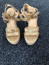 Nine West Wedge 100% Leather Casual Heels for Women