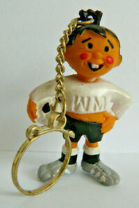 Fußball WM 1974 Maskottchen Tip & Tap Schlüsselanhänger alte Werbefigur Nr. 709