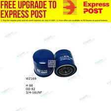 Wesfil Fuel filter WZ169 fits Nissan Navara 2.5 D 4x4 (D21),2.5D RWD (D21)