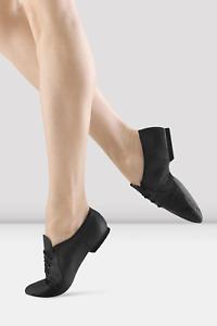 Black leather Bloch jazzsoft split sole jazz shoes  - all sizes