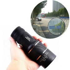 16x52 Dual Focus Optic Lens Travel Monocular Telescope Tourism Scope Binoculars