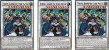 3 x Thor Lord Of The Aesir LEHD-ENB30 Common 1st Ed  YUGIOH Cards