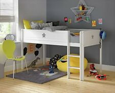 Collection Stars Mid Sleeper Bed Frame - White