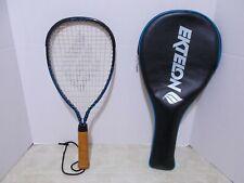 Vintage Ektelon Xpre Graphite Racquetball Racquet - Euc & Leather Grip