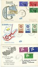 TIMBRE STAMP ERGEL 3 FDC EUROPA CYPRUS CHYPRE