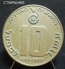 MEDAILLE INDUSTRIE AERONAUTIQUE ISRAELIENNE 1953-1963