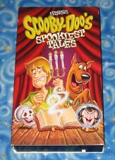 Scooby Doo Spookiest Tales VHS Video Tape in Excellent Tested Condition USA
