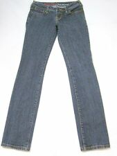 GUESS Jeans EVA SKINNY Dark-Blue Wash Low Rise Stretch SIZE 25 x 31