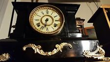Beutiful cast iron vintage Ansonia Mantle clock