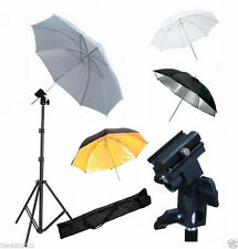 KIT FLASH DIFFUSER REFLECTOR MOUNT UMBRELLA BAG CAMERA DSLR NISSIN DI622,DI866,