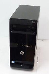 HP PRO 3500 INTEL PENTIUM G 2.9GHZ RAM 4GB HDD 500GB +SSD256GB  WIN 10 PRO